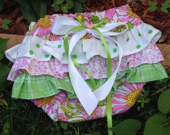 Pretty Posey Ruffle Bottom Diaper Cover