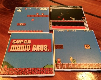 Super Mario Bros Coaster Set