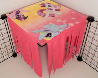 Peek-a-Boo Hideout for 1x1 grid.. Ombre My Little Pony with Fuschia