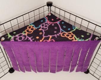 Peek-a-Boo Corner.. Hello Kitty faces with Purple