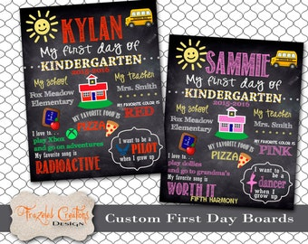 First Day of School Board -