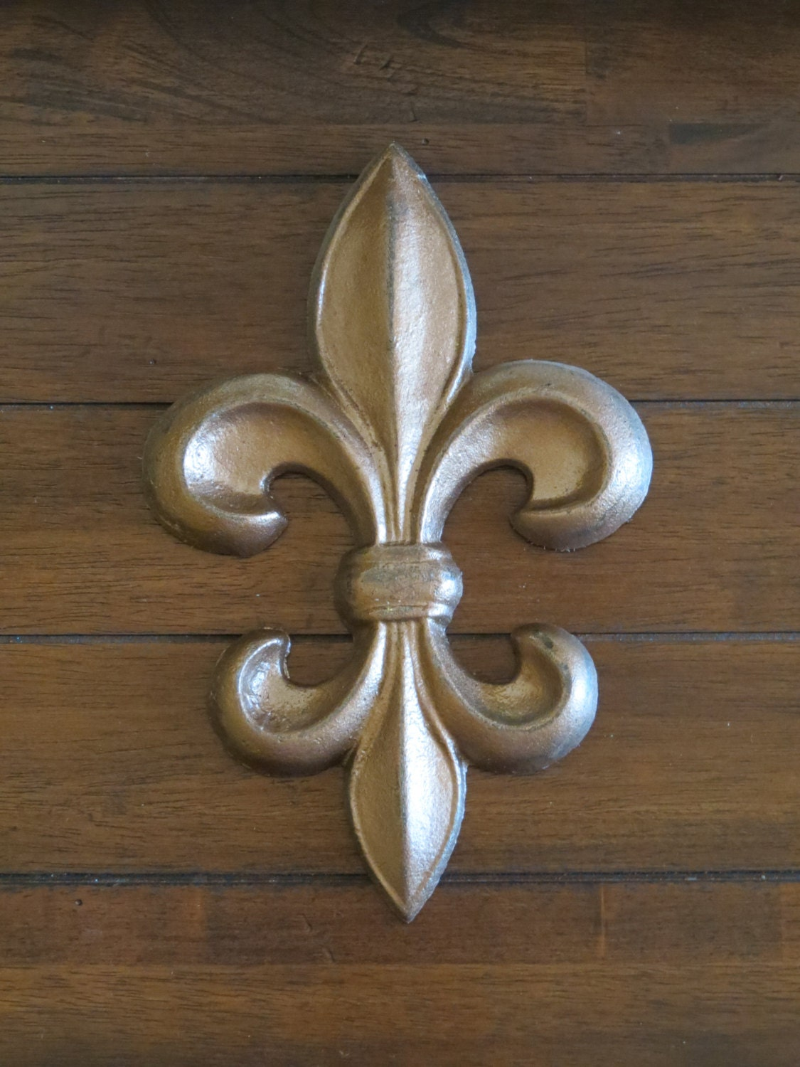 Fleur De Lis Wall Decor Cast Iron Wall Sign French Country