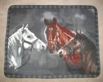 Spirit Horse Fleece Throw Blanket