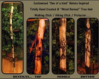 walking stick,hiking stick,FREE Inscription,walking cane,hikers gift idea,men,elderly mens gift,boyscout gift,customized ,nature lovers gift
