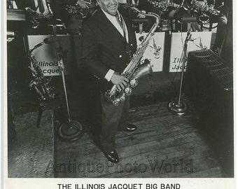 Illinois Jacquet jazz music band saxophone photo