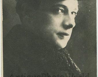 Maximov Russian silent movie actor antique rppc photo