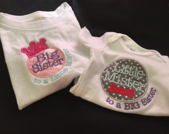 Big Sister & Little Mister Sibling Set