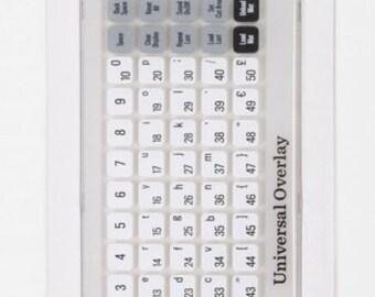 Universal Keypad Overlay