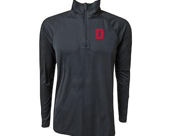 University Of Detroit Mercy 1/4 Primary D - Black