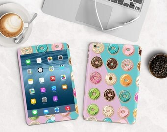 Eat Donuts for Breakfast Vinyl Skin for the iPad Air 2, iPad mini , Kindle All Models , Surface Pro and RT