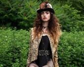 Custom 4 inch Raven Black Top Hat - Full Size