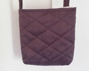 Purple shoulder/crossbody bag for girls