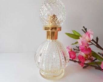 Vintage Perfume Bottle Scent Bottle Glamorous Vanity Accessory