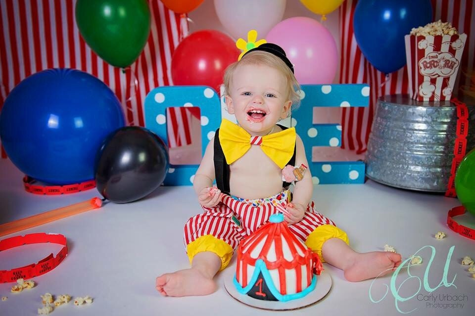 3a1bdefd3 Circus Birthday Cake Smash Carnival Outfitbaby Costume – Migliori ...