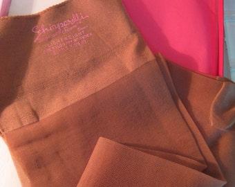 1960s PINUP Stockings Schiaparelli Nude 9 1/2 - 10 ITALY