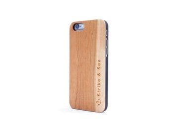iPhone 6/6S Wood Case - Cherry Wood - Strike & Sea
