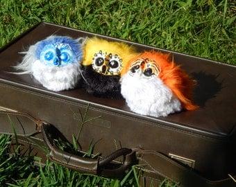 Adorable Handmade Hoot Owl Art Dolls