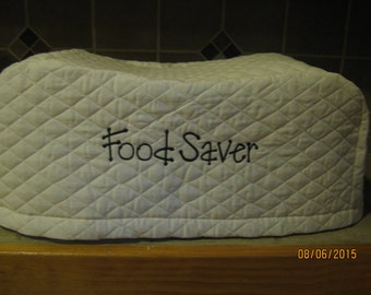 Food Saver Appliance Cover, Ivory/Cream or Red