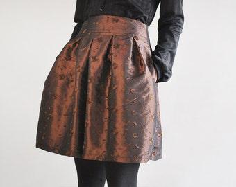 B.I.A.N.C.A taft skirt