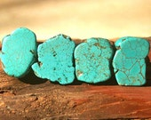 Turquoise Drawer Pull, Stone Cabinet Knobs, Kitchen Knobs and Pulls, Southwest Decor