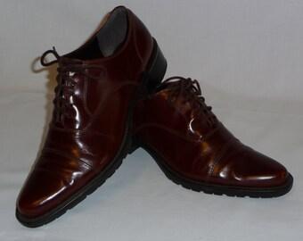 Vintage 9 West Oxford style size 6 1/2M Women's Shoes