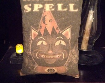 Sit For A Spell Pillow