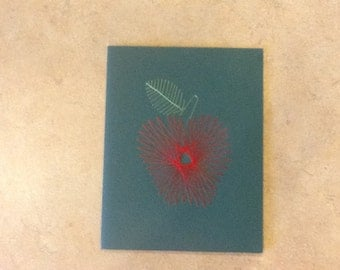 Embroidered Apple Card