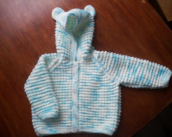 Child's Hooded Cardigan