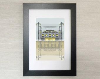 Brighton Architecture Print - Brighton Pier