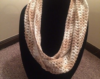 Natural Ombre Infinity Scarf