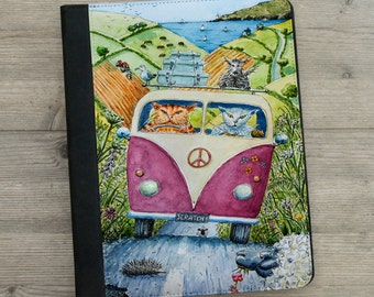 iPad - iPad mini - iPad Air - Case - VW - Cats - Campervan - Art