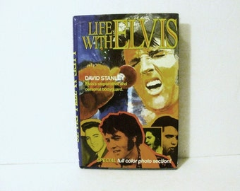Signed by Stepbrother, Life With Elvis by David Stanley with David Wimbish 1968, Author is Stepbrother to Elvis