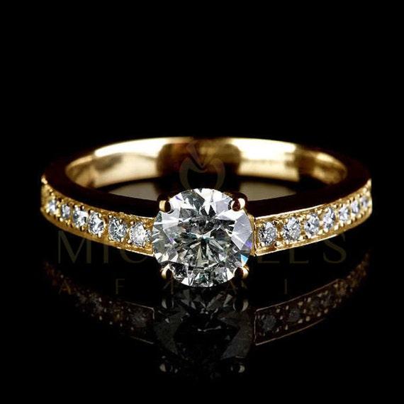 Фото женских колец бриллиант