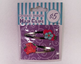 Firefly Kaylee Inspired Hair Clips-SALE
