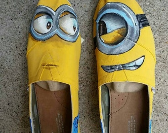 Hand Painted Minion Toms