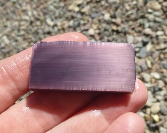 Lavender Fiber Optic Slab  (45X22X7)