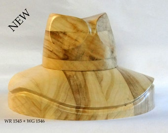 Wooden Hat Block WK 1545 /WR1545+WG1546/