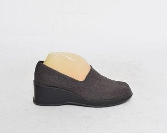Vintage 90's  Platform Loafers Shoes