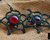 Micromacrame earrings, St...