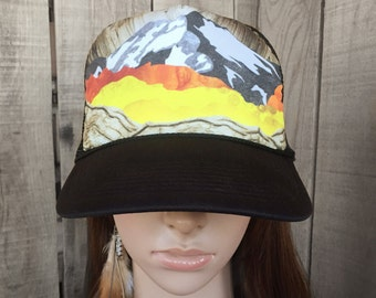 Fall in the Mountains Trucker Hat