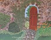 Zen Art Over the Garden W...