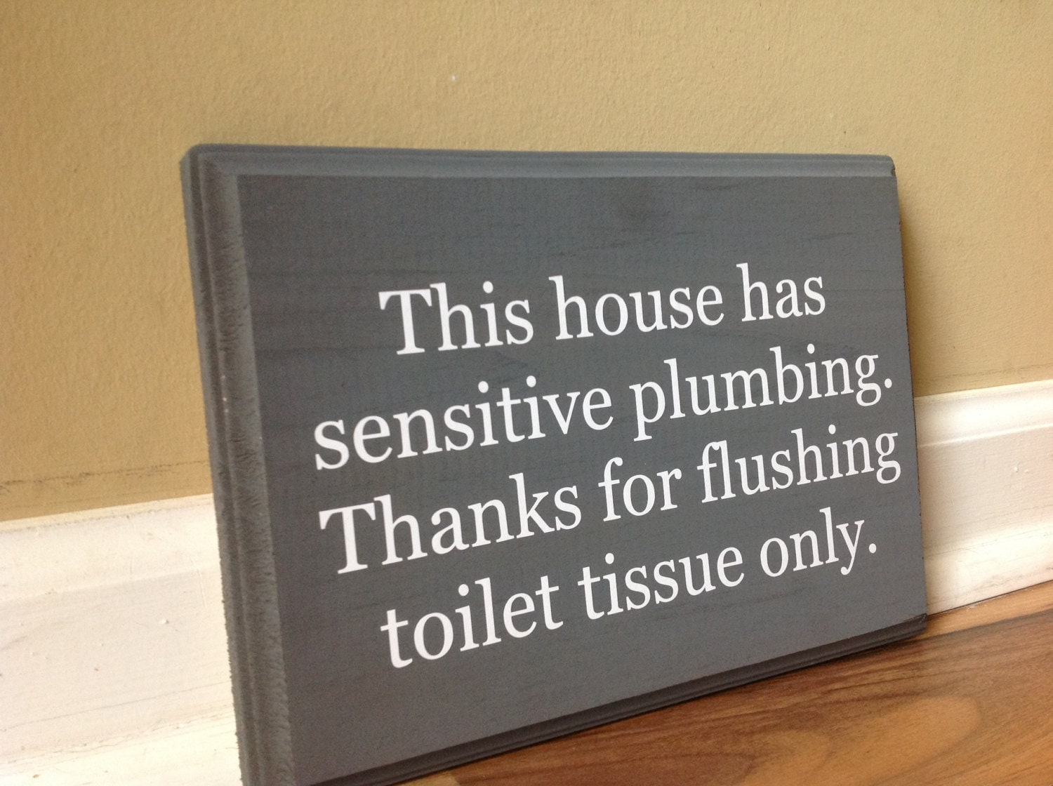 This house has sensitive plumbing septic system rules wooden for 1 bathroom septic system