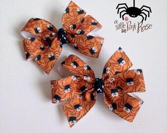 Halloween Girls Spider Bow Accessories