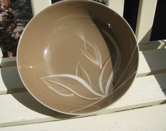 """Vintage Winfield California Pottery 9"""" Vegetable Bowl in the Desert Dawn Pattern"""