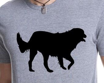 GOLDEN RETRIEVER SHIRT Dog Breed doggy Puppy Tee - New Pup Shirt Mans Best Friend Animal dog shirt Dog on a Tee Shirt - Dog Lovers_plain