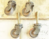 Mid Century, Mod, hastypearl, Wheels, Casters, Furniture Casters,