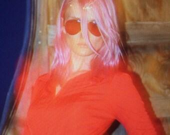 Red Disco Dress