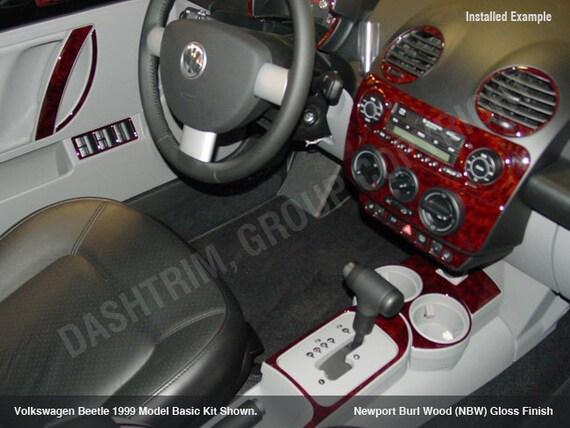 Vw Volkswagen Beetle 1998 1999 2000 2001 Interior Set Red