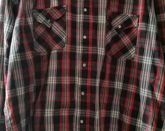 Men's vintage western shirt (XL)
