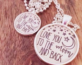 Love You To The Moon Mommy and Me Set